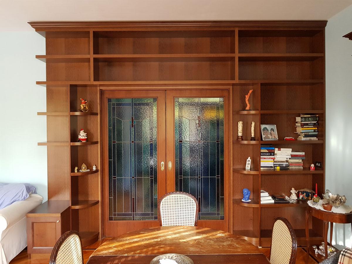 libreria di mogano